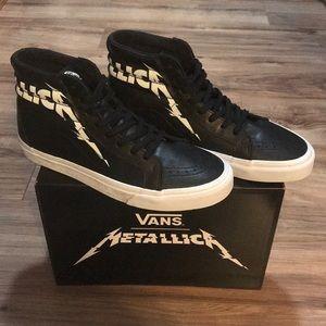 NWOB Vans x Metallica Sk8-Hi's SOLDOUT
